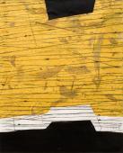 Terri Fridkin -Anse de Cayes 1-intaglio, monotype, chine colle